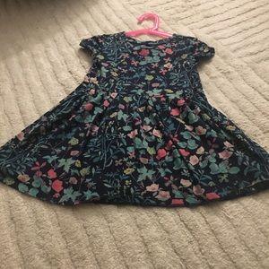 Girls Gap floral dress. Worn once